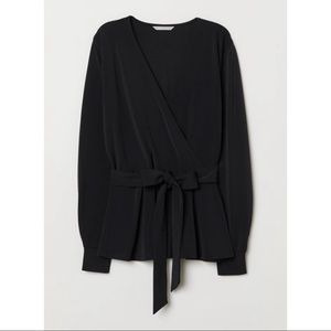 H&M Wrapover Top